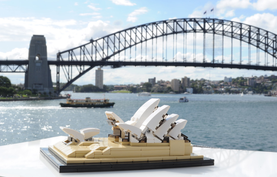 Sydney Opera House Immortalised In Lego Australian Design Review