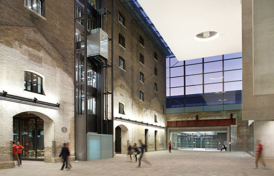 Central Saint Martins Holborn Old Building