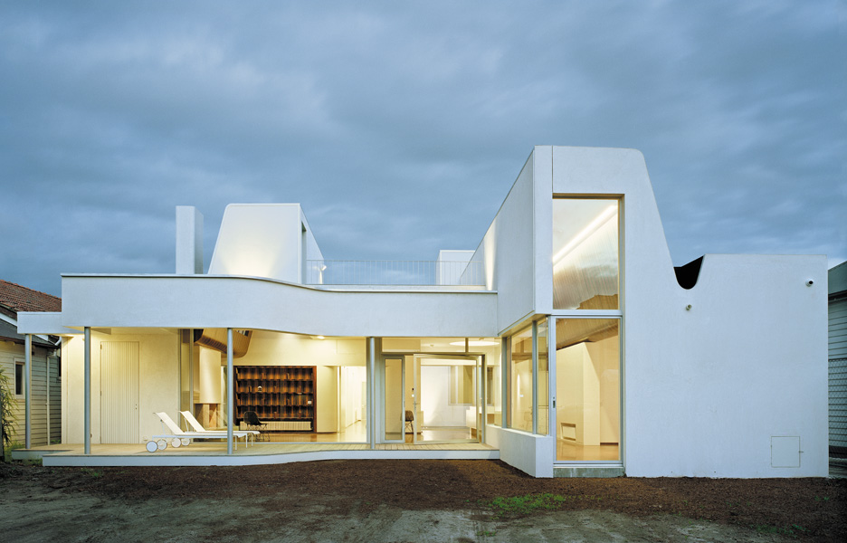 Clifton hill house by sharif abraham architects - House on the hill 2012 ...