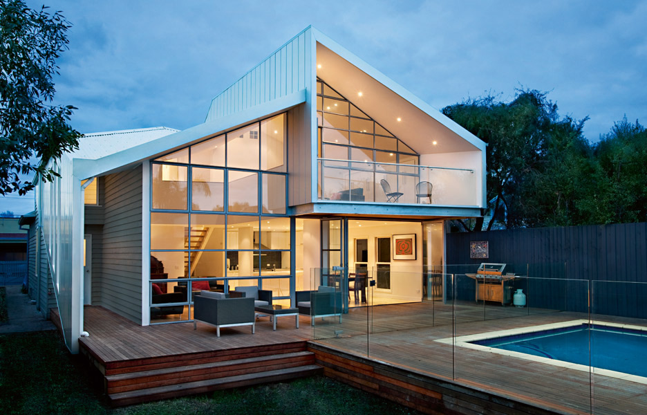 blurred house by bild architecture melbourne australian