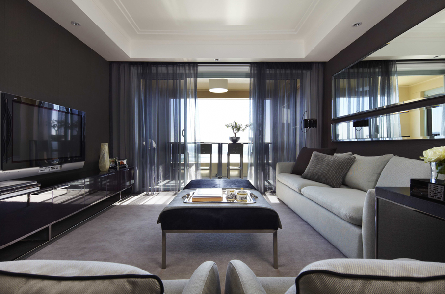 stunning award winning living room interiors | Interior Design: Kent Street apartment | Australian Design ...