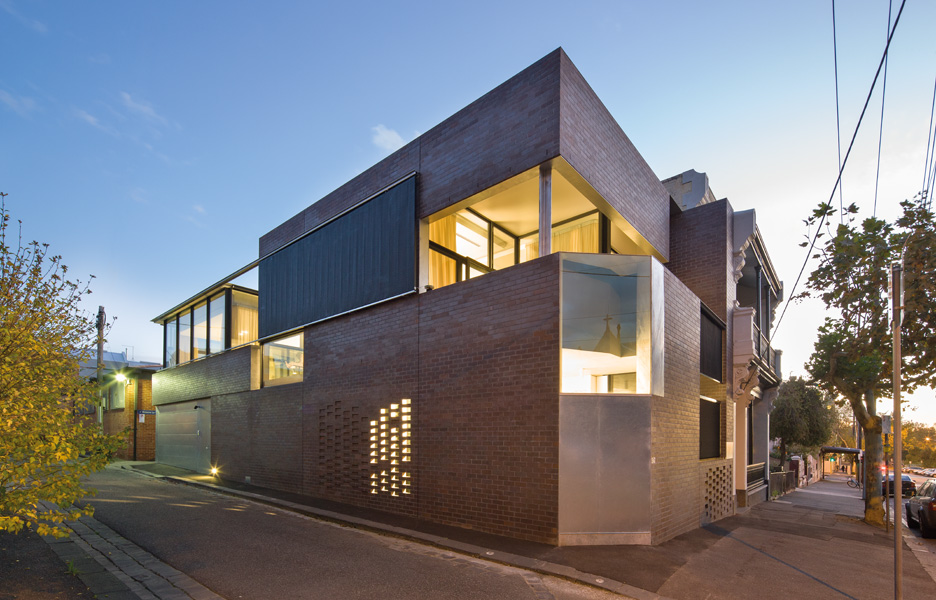 Queensberry street house by robert simeoni architects Architectural design review