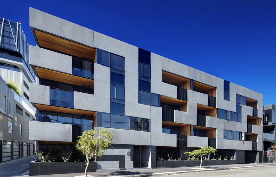Architecture the maze apartments by cht architects for Apartment architecture