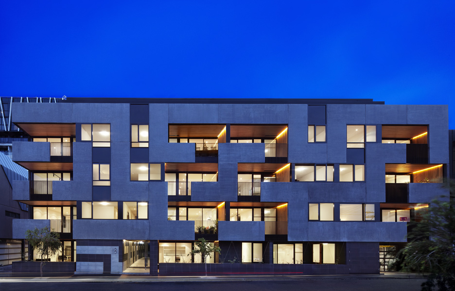 Architecture the maze apartments by cht architects Architectural design review