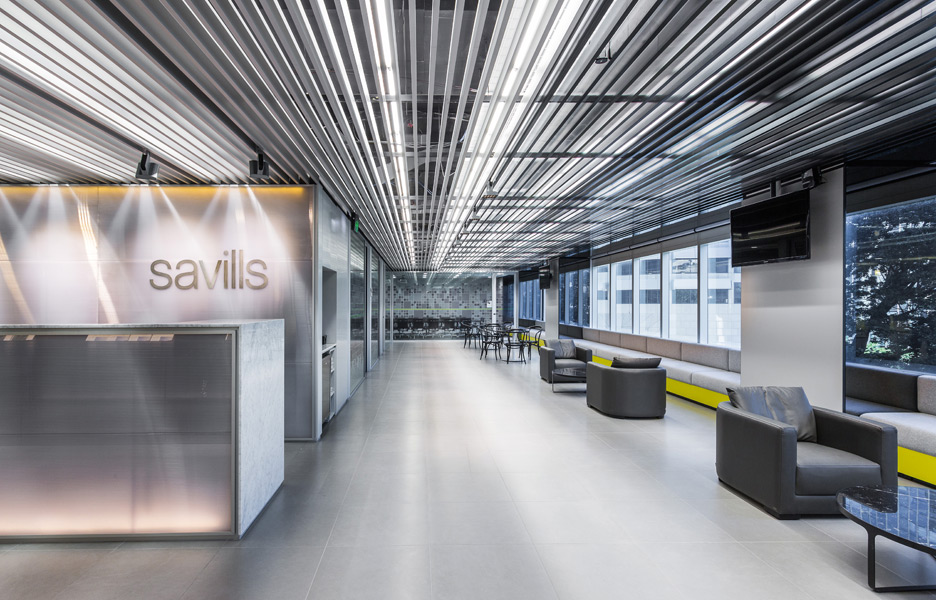 Savills brisbane by carr design group australian design for Interior decorating jobs brisbane