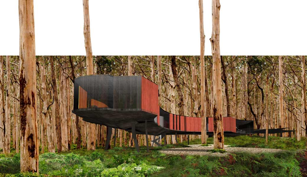 Jewel Cave Visitor Centre – iredale pedersen hook architects