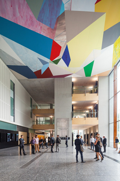 Queen Elizabeth II Courts of Law by Architectus in association with Guymer Bailey Architects