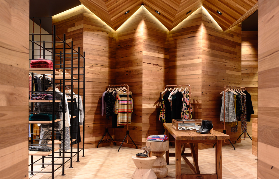 Gorman highpoint australian design review for Fashion retail interior design