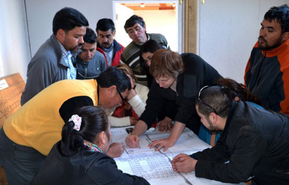 Residents also receive coaching on how to improve their homes.