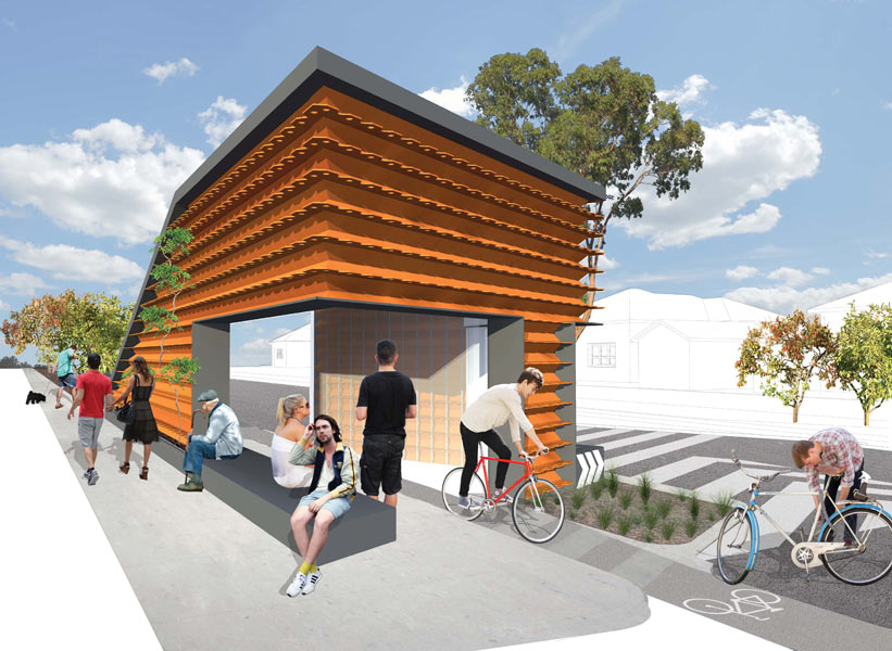 Brick verge project encouraging social interaction