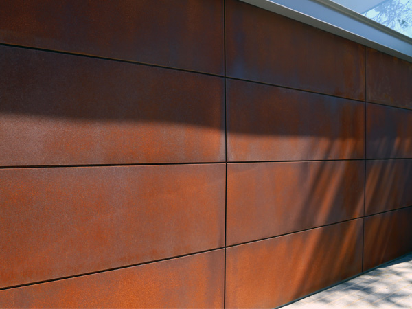 The marine rust garage door