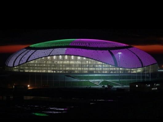Bolshoy Ice Dome / SIC mostovik