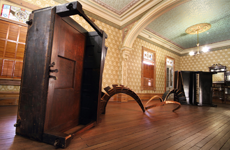 The Fountain be Still - Player pianos - Rio Vista Historic House, Drawing room - Mildura - 2013. Image Robbie Rowlands