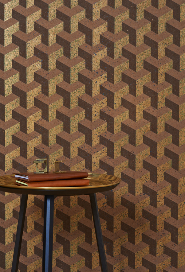 New wall-covering Cubism by Instyle