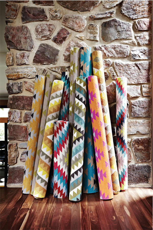 Intricately Woven Kilim Rugs From