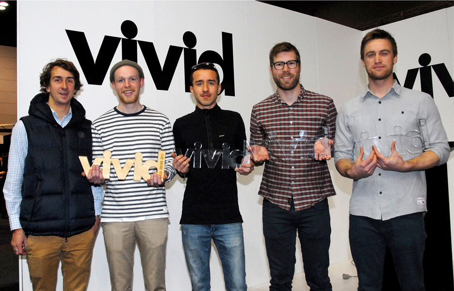 The winners of VIVID 2013