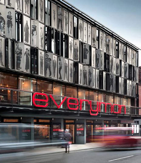 The Everyman is an urban centre.  Image courtesy: Haworth Tompkins