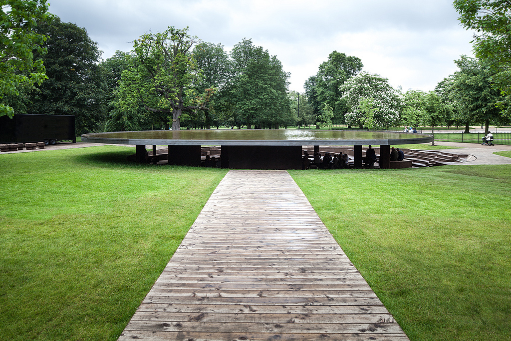 Serpentine Gallery Pavilion Kensington Gardens, London, UK, (2012). Image Courtesy: Yohan Zerdoun