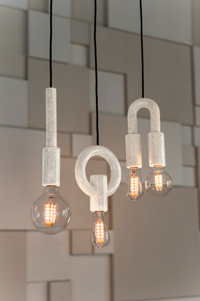 The I-O-N pendant lights