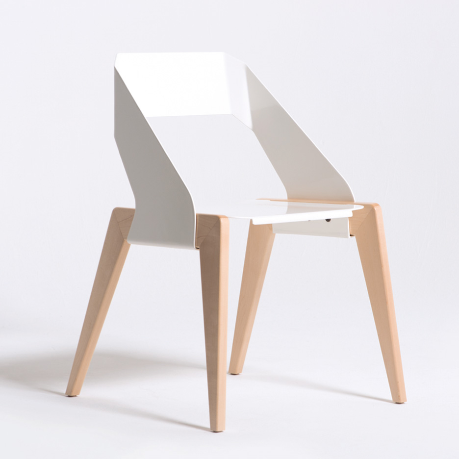 Arc chair designed by Aaron Leahy. Image courtesy of Aaron Leahy