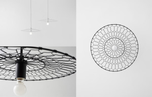 Nendo Studio Basket Lamp