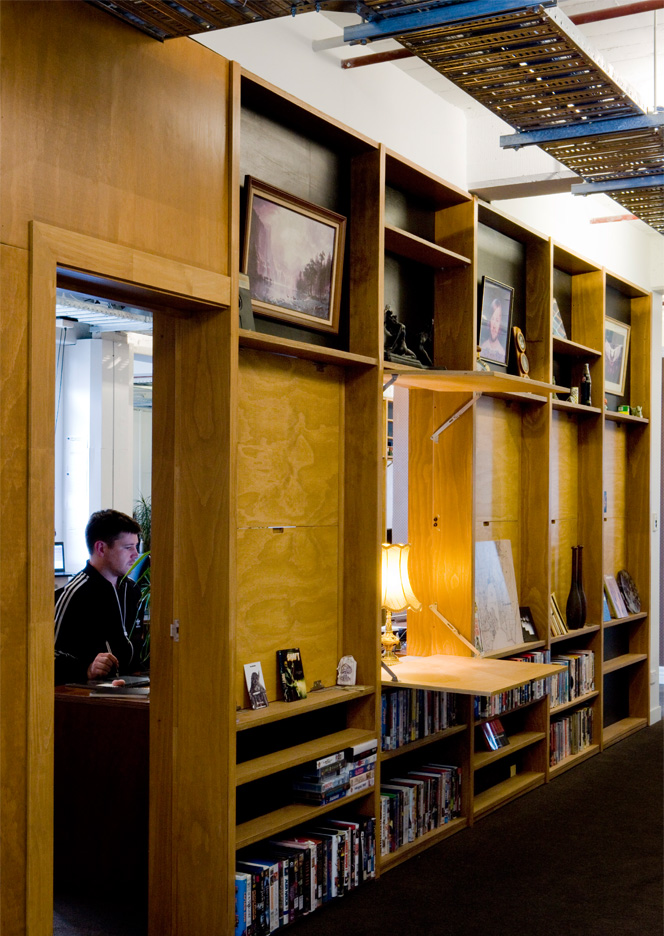 Resn Office fit out, Wellington. Photo by Nicola Edmonds