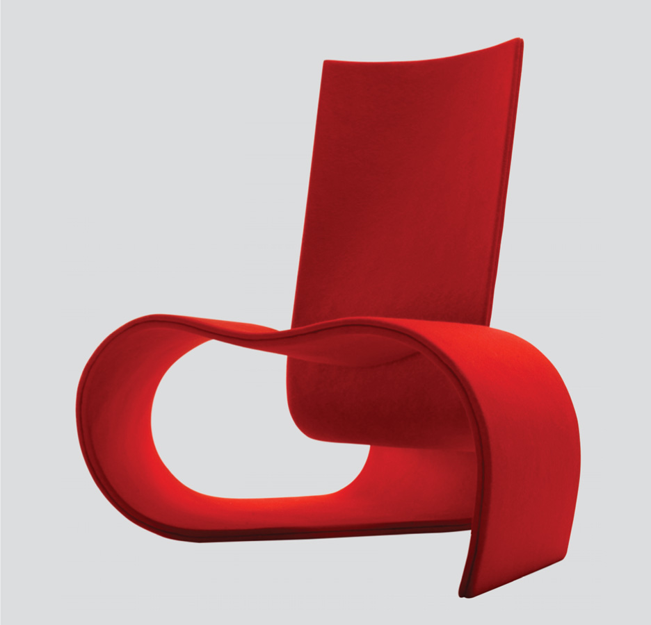 101 Chair designed by Helen Kontouris and manufactured by Schiavello. Image courtesy of Helen Kontouris