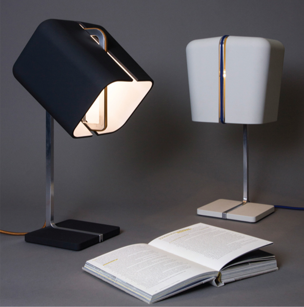Winner of the Workshopped 2013 People's Choice   Award, The Aligned lamp exemplified Kink's balance of aesthetic and solution