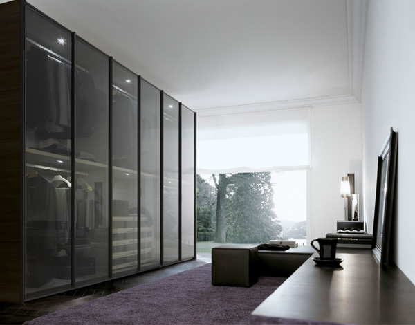 Poliform Ego Wardrobe in situ