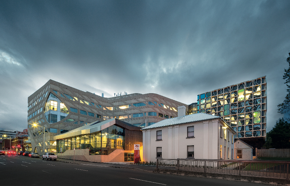 Medical science 2 at the university of tasmania australian design