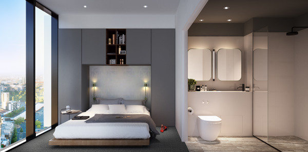 Victoria-One_bedroom-and-bathroom