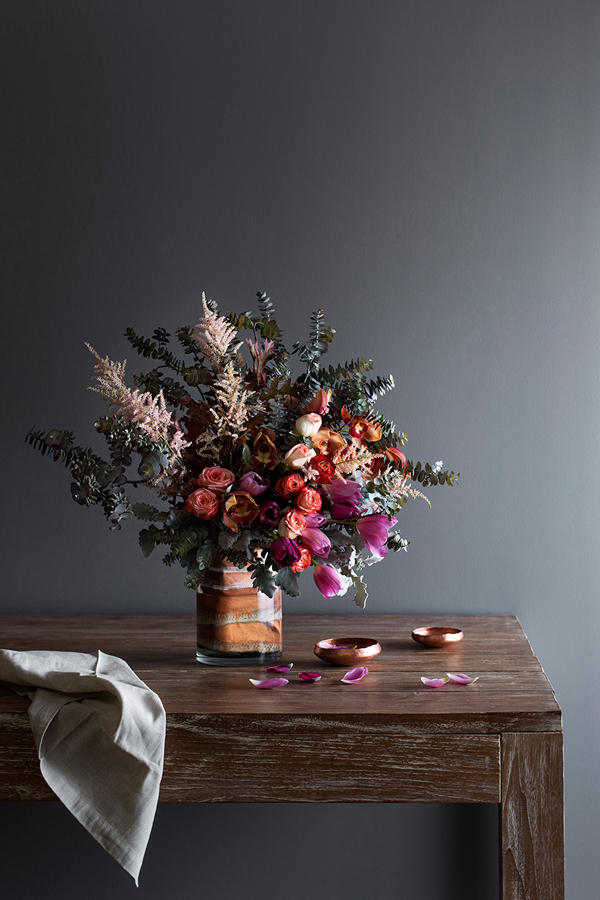 Styling by Ruth Welsby. Photography Martina Gemmola. Props by Wunderplant, Form Function Style, AURA by Tracie Ellis.