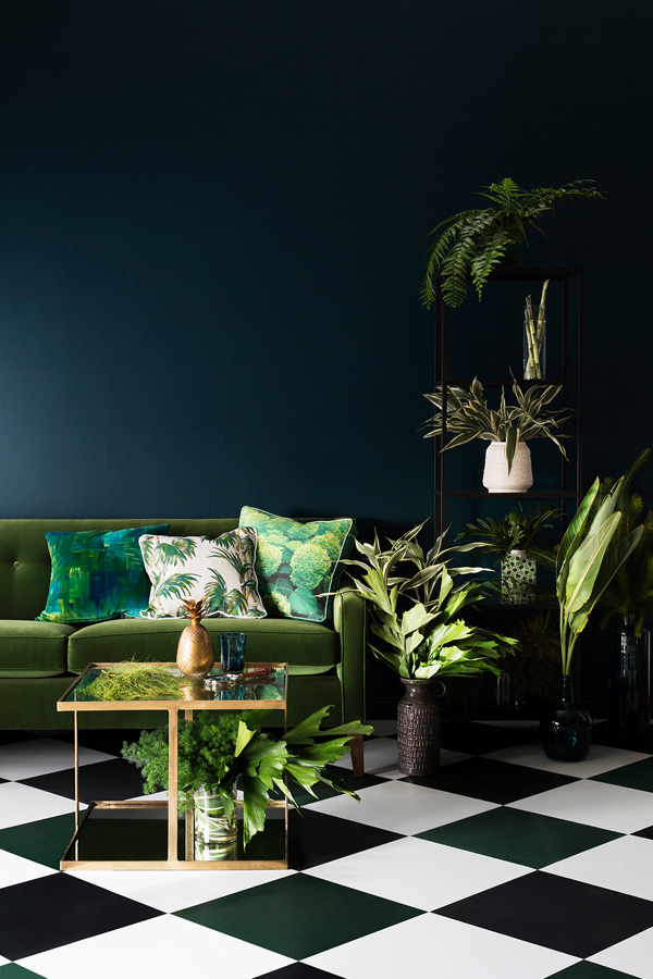 Styling by Ruth Welsby. Photography Martina Gemmola. Props by Moss Melbourne, Escape to Paradise, Globe West, Scout House, HK Living Australia, Botanical design by Wunderplant.
