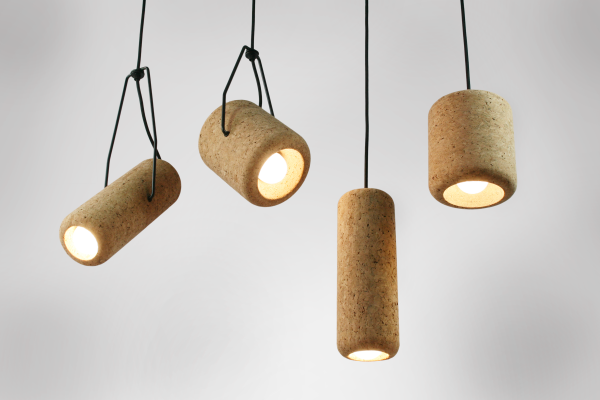 Corker pendant lights by Max Harper
