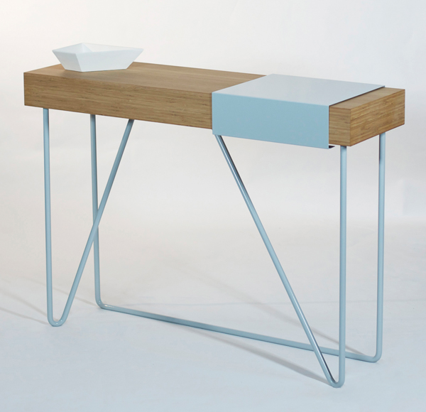 Monkey Bars side table by Mechelle Shooter
