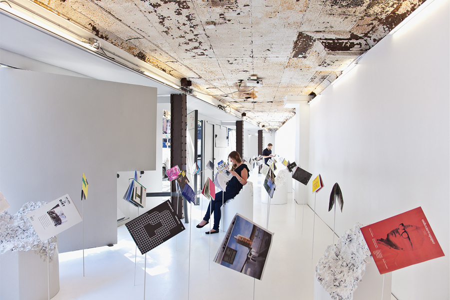 Archizines at Storefront for Art and Architecture, New York, 2012. Photo credit: Naho Kubota
