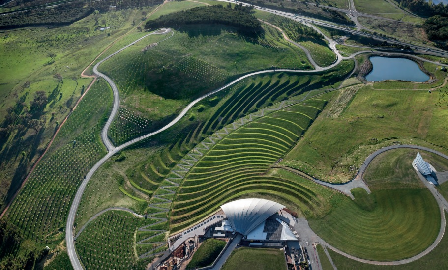 National Arboretum Canberra project by Taylor Cullity Lethlean and Tonkin Zulaikha Greer