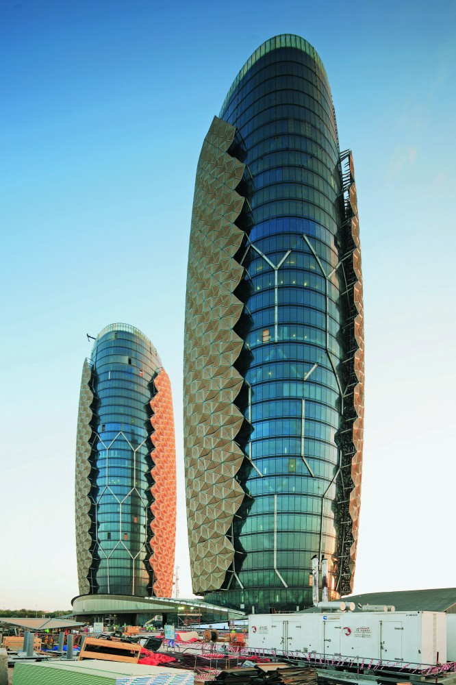 Abu Dhabi Investment Council Headquarters. Image copyright Edward Denison, 2012. Image courtesy of Images Publishing