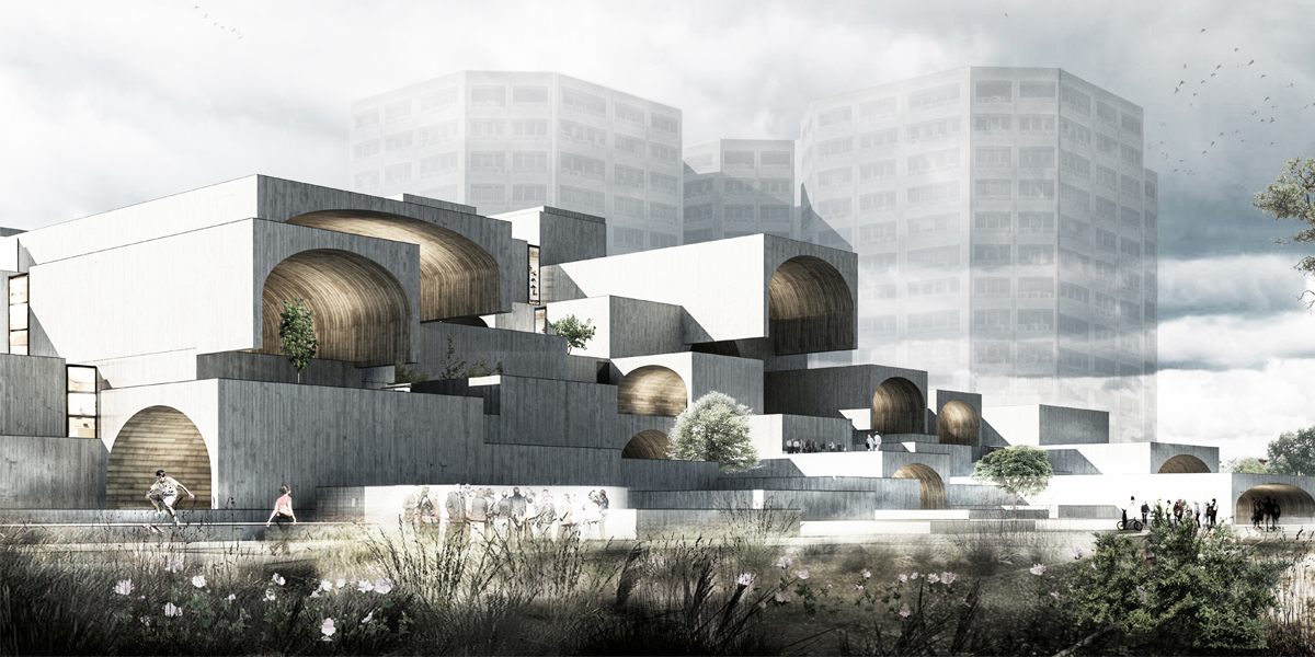 Isfahan Dreamland Commercial Center by Farshad Mehdizadeh Architects