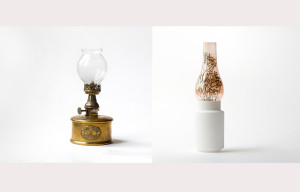 lamp vase