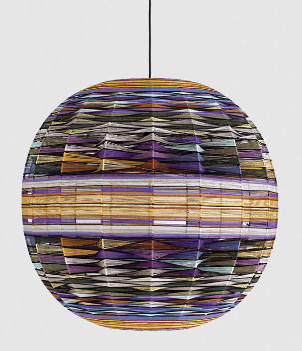 Thea Kuta lamp by Missoni Home. Image courtesy of Spence and Lyda.