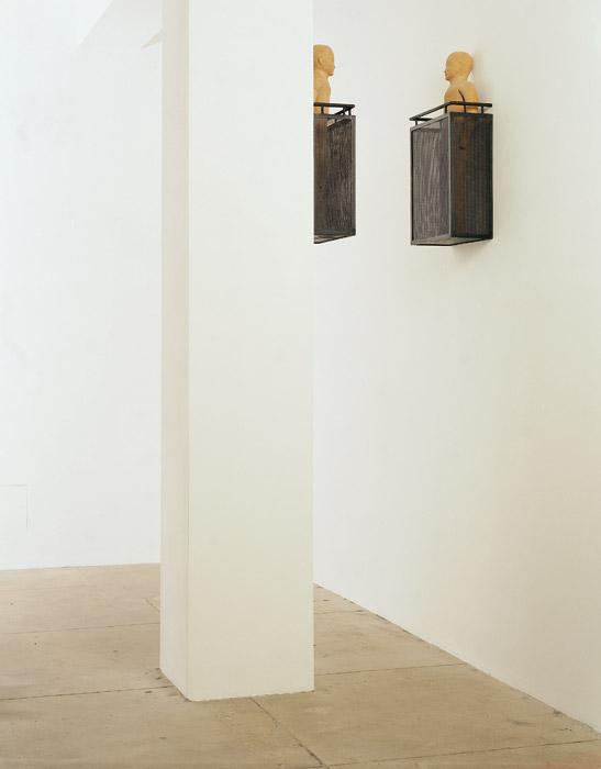 Opposite balconies, Juan Muñoz (1998). Credit Tate Gallery