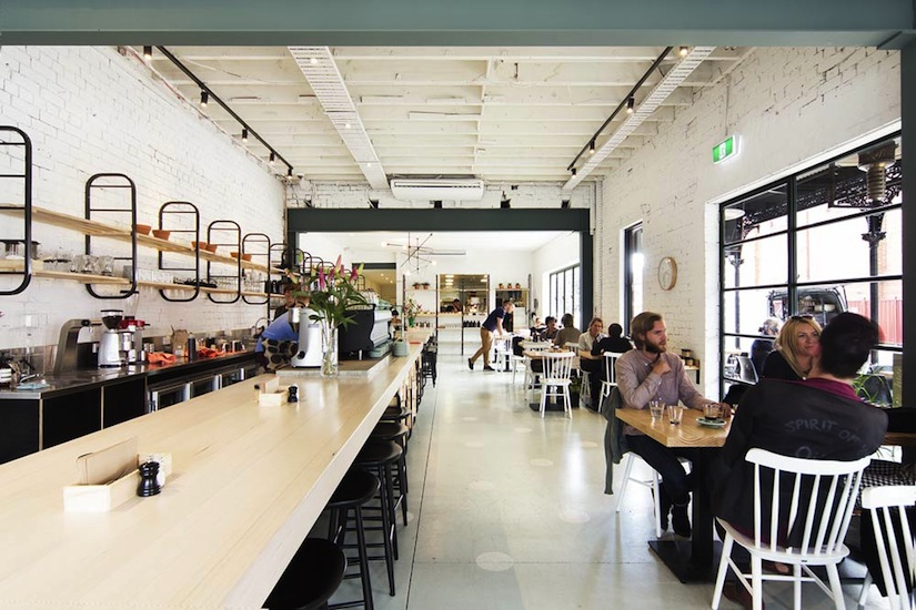 Barry Cafe by Techne Architecture + Interior Design. Photography by Ben Hosking