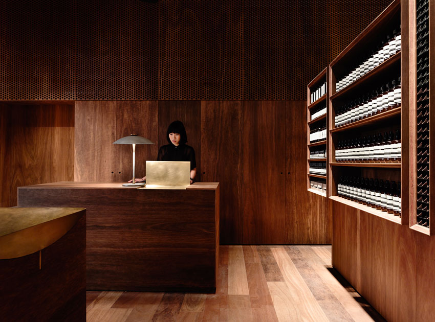 Aesop Emporium by Kerstin Thompson Architects. Photography by Derek Swalwell