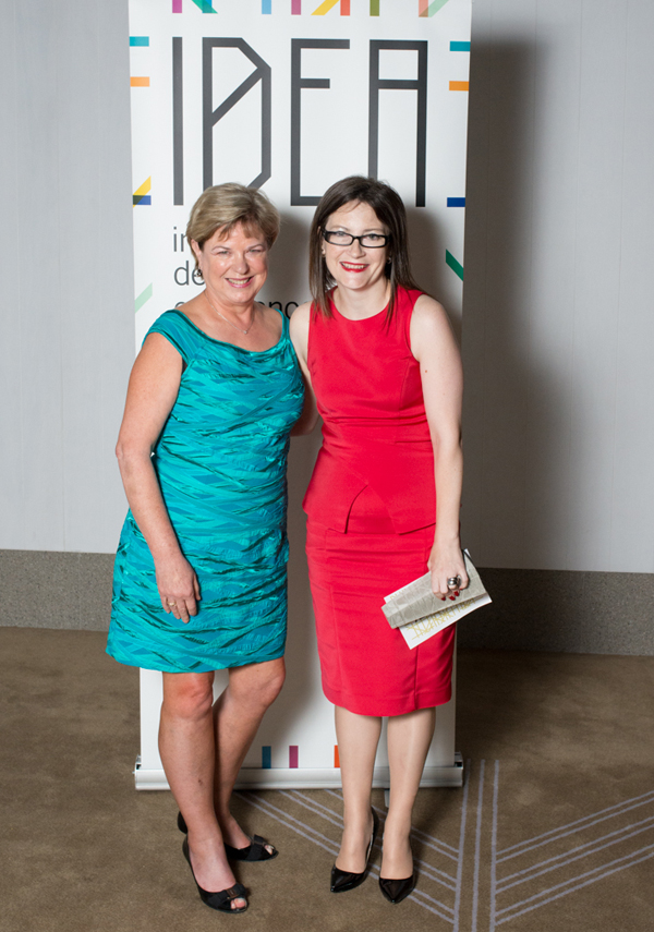 Coeditor of (inside) Interior Design Review Jan Henderson with Domino Risch of BVN Donovan Hill