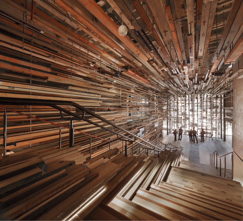 Nishi staircase by March Studio. Photo by John Gollings.