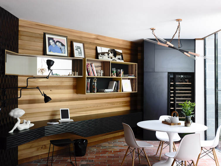 Swinging Seventies house by Atticus & Milo. Photography by Derek Swalwell