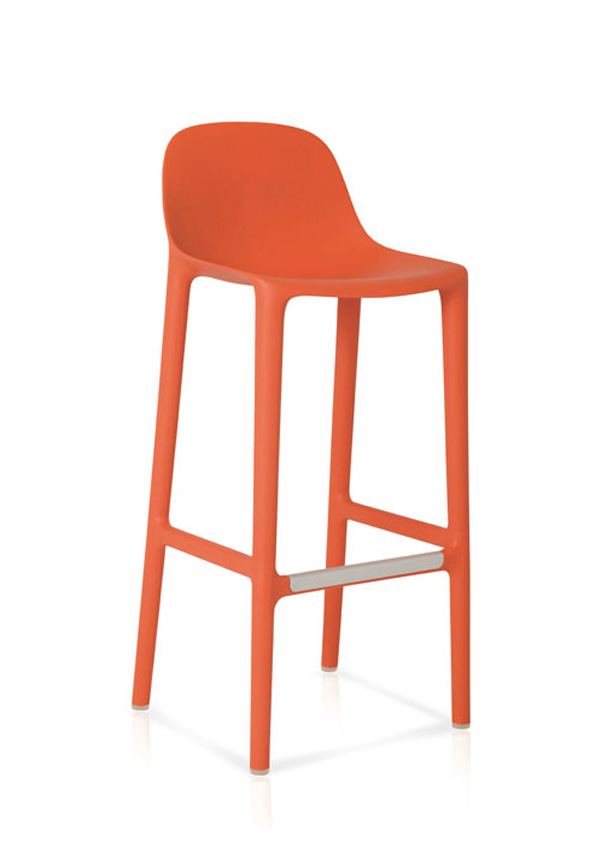 Philippe Stark Designs Broom Barstool For Emeco