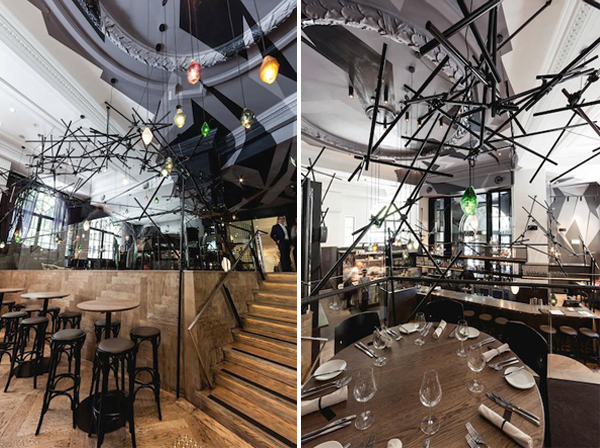 Bentley Restaurant and Bar by Pascale Gomes-McNabb. Photography by Paul McMahon
