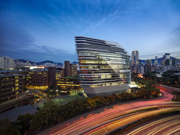 Jockey ClubInnovation Tower. Image © Virgile Simon Bertrand